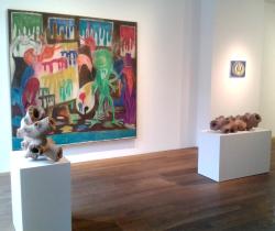Peter Kamm, Tal R, André Butzer   Galerie van de Loo Projekte
