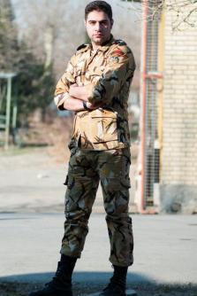 Mehrdad Mirzai: Soldier