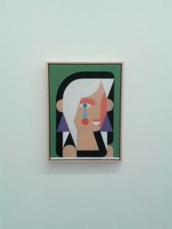 Fröhliche Witwe 2014-2015 | Öl auf Leinwand | 50 x 37 cm