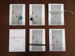 Auflage von Unikaten unter Verwendung der Einladungskarte