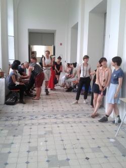 Präsentation der Schmuck-Klasse