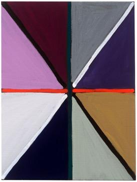 Emanuel Seitz, Untitled, 2014, acrylic on canvas board, courtesy Galerie Christine Mayer