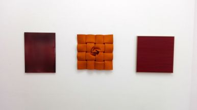 """Fifty Shades of Red"", Galerie Renate Bender"